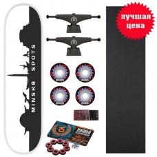 Скейтборд в сборе Destroyer Destroyer Minsk8 spots 8,125 x 31,5