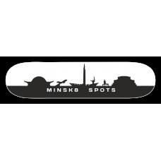 Дека для скейтборда Destroyer Minsk8 spots 8,125 x 31,5