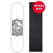 Дека для скейтборда Destroyer Klich  8,125 x 31,75 cо шкуркой
