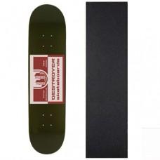 Дека для скейтборда Destroyer  Сity Gates 8,125 x 31,75 со шкуркой